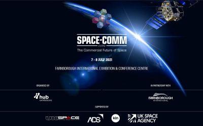 Latitudo 40 at next Space-Comm Expo