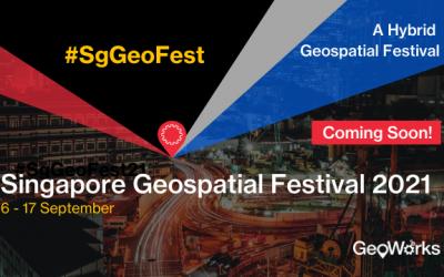 Latitudo 40 to participate to Singapore Geospatial Festival 2021
